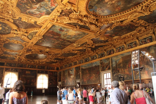 The large Ballroom in the Doge's palace