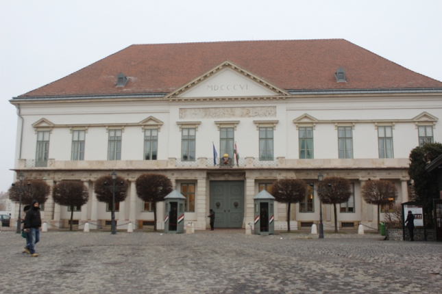 The Sandor Palace, Budapest